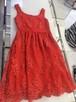 Red Lace Dress 赤いレースワンピース KQDOX0808