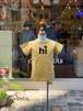 KIDS:NEEDLEWORKS STANDARD【ニードルワークススタンダード】Smile T-shirt(イエロー/80〜150cm)スマイルTシャツ