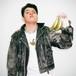 banana sweatshirt /gold and silver