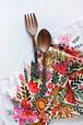 Multicolor Flower Kitchen Towel 100% cotton
