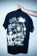 "Rakugaki ""TAGGING"" T-Shirts Black/Neon Green"