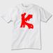 K Tシャツ かわいいT おしゃれT ※トナー熱転写