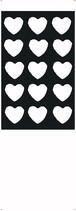 デザイン壁紙「bukotu heart」リノベーションにも新規開業時にもクロス施工にぴったり!