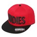 "RUDIE'S / ルーディーズ | "" PHAT SNAPBACKCAP "" - RED/BLACK"