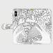 手帳型(帯あり)(iPhone X/XS):kazue.M_010(球魂(きゅうこん))