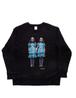 Noodle×THE SHiNiNG unisex sweatshirt