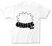 ウニくん『コンタクトデビューしてみました。』Tシャツ(ホワイト)