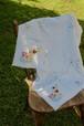 イギリス製 ヴィンテージ リネンクロス リネン クロス テーブルクロス カーテン カフェカーテン