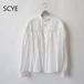 SCYE basics/サイ ・リネンタックブラウス