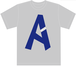 [A]Tシャツ【グレー】