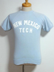 1960's 半袖ラグランスウェット NEW MEXICO ライトブルー 実寸(S)