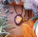 *Sunset Ombre* Labradorite Macrame Necklace