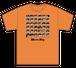 [新品] [アパレル] ダウンタウン全員集合Tシャツ カラー16:隼オレンジ / ミラクルキッズ!