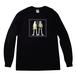 Long Sleeve T-shirt(Desinged by Nah) [ブラック×グリーン]