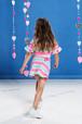 Colorful Border Skirt(Girl)