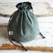 """DRAWSTRING BAG"" US Fatigue ①"
