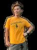 【SKANDHAL】CERCHIO Tシャツ 【オレンジ】【新作】イタリアンウェア【送料無料】《M&W》
