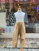 WOMENS:NEEDLE WORKS【ニードルワークス】Stretch-chino Pants(ベージュ/S,Mサイズ)ストレッチチノパンツ