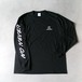 NONEVER Long Sleeve T-Shirts BLK