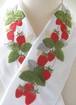 イチゴの半衿