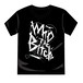 Who the Bitch ロゴTシャツ