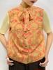 (TOYO) design bow tie vest