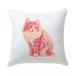 キャンディポップアート猫クッション【Pop cat たそがれ猫】