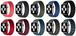ブレイデッドソロループ つなぎ目無し 選べるカラフル素材 ストレッチ素材 編み込み アップルウォッチ 替えバンド ブレスレット ベルト Apple Watch belt 38mm/42mm/40mm/44mm ★ [MM014]