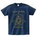 LUNA ET SOL Tシャツ(メトロブルー×ゴールド)