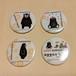 """""""Kumamon"""" Button Badge - Set -"""
