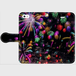 (iPhone5/5s/SEサイズ)手帳タイプ:花火の宇宙(KAGAYA)