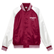 TSUBOMIN / TSUBOMIN ICON STADIUM JACKET BURGUNDY x WHITE