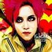 HIDE X-JAPAN B ポップアートパネル