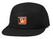 BUTTER GOODS DUB 5 PANEL CAMP CAP BLACK