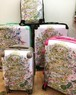 【白雲友子・神恩Gratitude絵柄スーツケース】大(L)size: Suitcase with the divine paintings of Shirakumo Tomoko