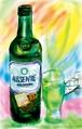 ABSENTE(アブサン) (ジクレーA4プリント)