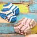 ready mades border short socks 11~21cm (50%off)
