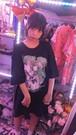 多次元グリッチBIGTシャツ/pauline marx