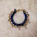 Cotton Pearl Bracelet (NAVY)