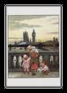 ロンドンの夕暮れのポストカード