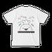マシュマロマローさん(HAHAHA Tシャツ White)