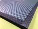 カワイイ肉球柄の畳縁が付いたフロア畳~樹脂製畳インディゴ