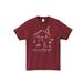sumika / Familia Tシャツ(バーガンディー)