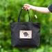 ダックスフンドのエコバッグ 犬がモチーフの洗えて折り畳めるショッピングバッグ