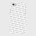 (通販限定)【送料無料】iPhone6/6s_スマホケース ストライプ_ホワイト
