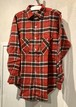 60's Deadstock Flannel Shirt