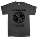 "FIREBIRDGASS""CIRCLE LOGO"" T-SHIRTS 【 CHARCOAL 】"