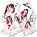 稲垣ゆうか ブロマイド3枚セット 【クリスマス/全12種】 2014年12月 #BR01402