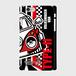 ノスタルジックカー・VW TYPE-II 側表面印刷スマホケース iPhone6/6s ツヤ有り(コート)