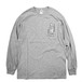 FEEVERBUG / PRAY FOR ME L/S T-SHIRTS GREY